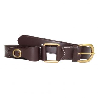 Victor leather stockman's belt