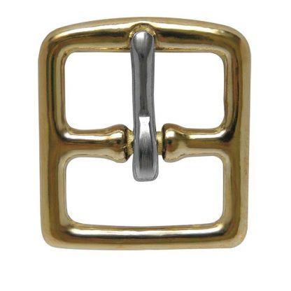 Stirrup Leather Buckles - Brass • Toowoomba Saddlery