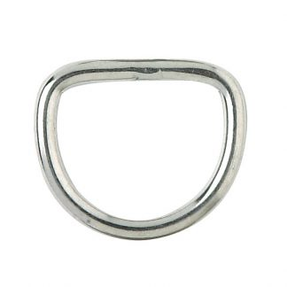 Saddle Dee - Stainless steel