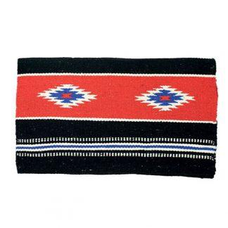 Navajo saddle blanket - Red/Black combination