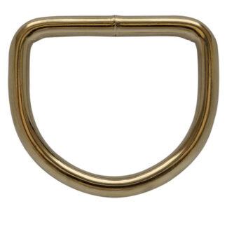 Brass harness dee