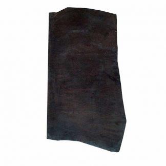 Chrome Leather single butt black