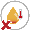 DONOT use hot oil - icon