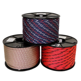 Hollow braid Polyester rope