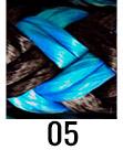 TS Pro Series colour swatch - Blue/Black