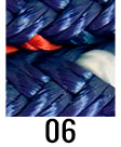 TS Pro Series colour swatch - Navy/Red/White